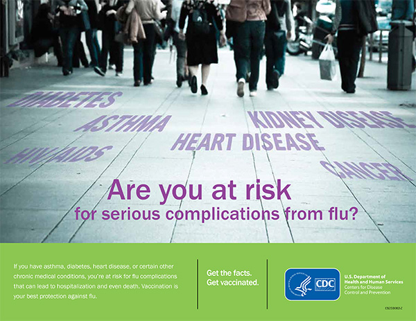 Vaccination is your best protection against flu.
