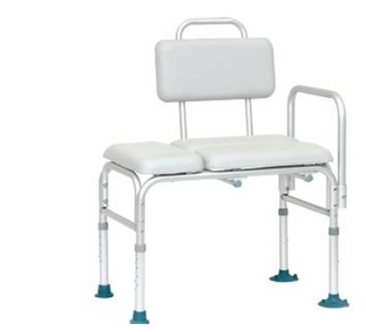 INVACARE PADDED TRANSFER BENCH