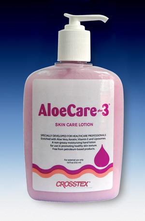 CROSSTEX ALOECARE PLUS 3 SKIN CARE LOTION