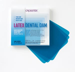 CROSSTEX DENTAL DAMS