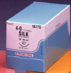ETHICON PERMA-HAND SILK SUTURES