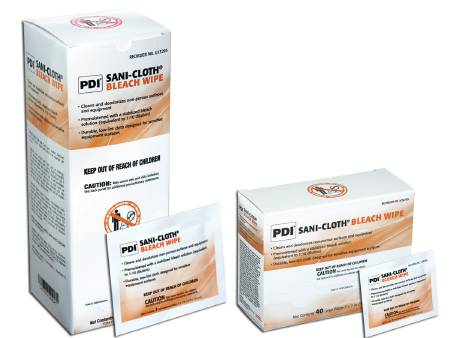 PDI SANI-CLOTH BLEACH WIPE