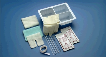 BUSSE TRACHEOSTOMY CARE SET WITH HYDROGEN PEROXIDE