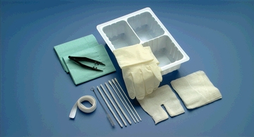 BUSSE TRACHEOSTOMY CARE SET WITH FORCEPS