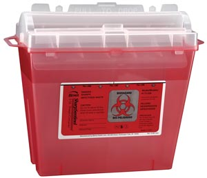 BEMIS SHARPS CONTAINERS