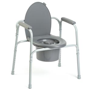 INVACARE I-CLASS ALL IN ONE COMMODE