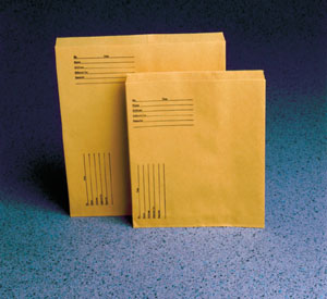 TIDI X-RAY KRAFT STORAGE/MAILING ENVELOPES