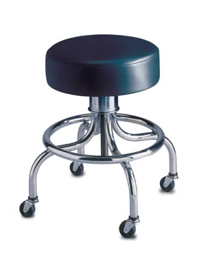 BREWER SCREW-ADJUSTABLE REVOLVING STOOLS