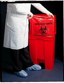 MEDICAL ACTION SURE-SEAL INFECTIOUS WASTE BAGS