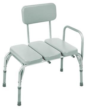 INVACARE VINYL PADDED TRANSFER BENCH