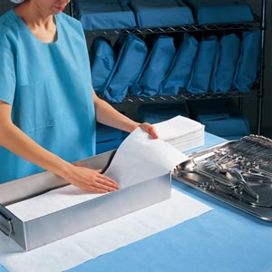 KIMBERLY-CLARK TRAY LINERS/TOWELS
