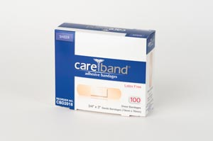 ASO CARE BAND SHEER ADHESIVE STRIPS