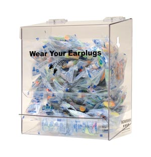 BOWMAN EARPLUG DISPENSER