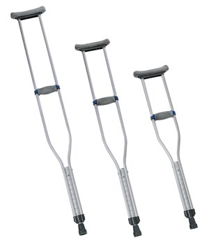 INVACARE QUICK-ADJUST CRUTCHES