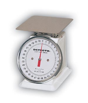 DETECTO MECHANICAL 6in DIAL TYPE PORTION SCALES