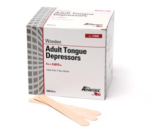 *PRO ADVANTAGE TONGUE DEPRESSORS