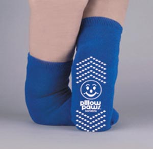 PRINCIPLE BUSINESS PILLOW PAWS BARIATRIC SLIPPER SOCKS