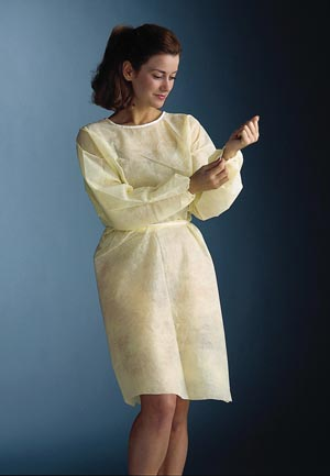 GRAHAM PROFESSIONAL NON-WOVEN ISOLATION GOWN