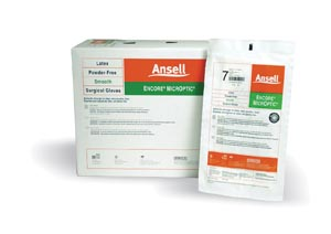 ANSELL ENCORE MICROPTIC POWDER-FREE LATEX SURGICAL GLOVES