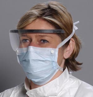 ALPHA PROTECH COMBO SURGICAL MASKS WITH SHIELD