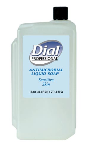 DIAL SENSITIVE SKIN ANTIMICROBIAL SOAP