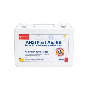 FIRST AID ONLY 16 UNIT (25 PERSON)  ANSI Z308, 1-2003 COMPLIANT KITS