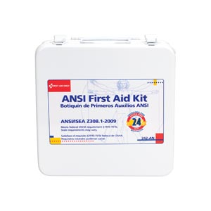 FIRST AID ONLY 24 UNIT (50 PERSON)  ANSI Z308, 1-2003 COMPLIANT KITS