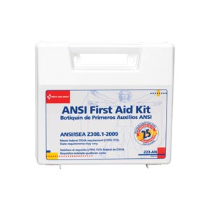 FIRST AID ONLY 25 PERSON ANSI Z308, 1-2003 COMPLIANT KITS
