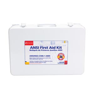 FIRST AID ONLY 36 UNIT (75 PERSON)  ANSI Z308, 1-2003 COMPLIANT KITS