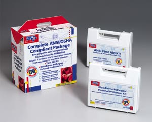 FIRST AID ONLY ANSI/OSHA COMPLIANT PACKAGE