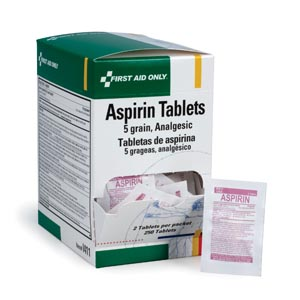 FIRST AID ONLY ASPIRIN