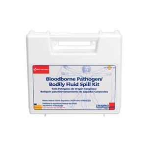 FIRST AID ONLY BLOODBORNE PATHOGEN-BODILY FLUID SPILL KIT