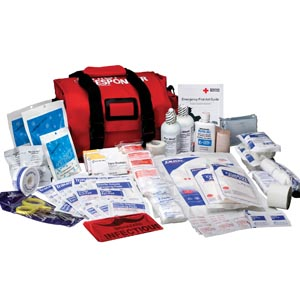 FIRST AID ONLY FIRST RESPONDER KIT 158 PC