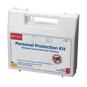 FIRST AID ONLY PERSONAL PROTECTION KIT & CPR PACK