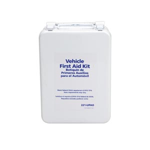 FIRST AID ONLY VEHICLE KIT