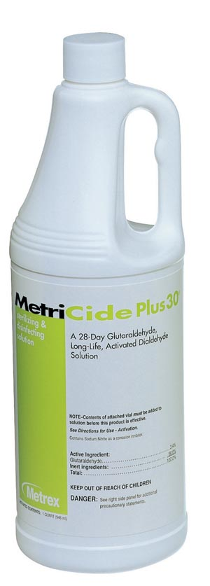 METREX METRICIDE PLUS 30 DISINFECTING SOLUTION