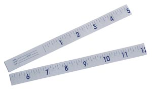 GRAHAM-FIELD GRAFCO PAPER INFANT TAPE MEASURES