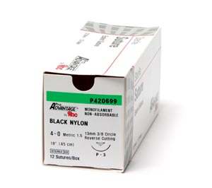 *PRO ADVANTAGE NYLON SUTURES