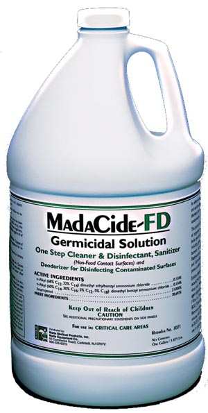 MADA DISINFECTANT/CLEANERS