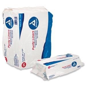 DYNAREX DISPOSABLE PANT LINERS