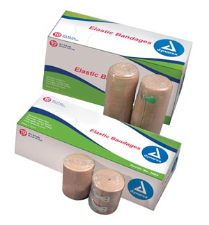 DYNAREX ELASTIC BANDAGES, LATEX FREE