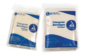 DYNAREX TRIANGULAR BANDAGES