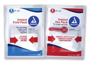 DYNAREX INSTANT COLD & HOT PACKS