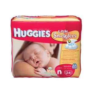 KIMBERLY-CLARK HUGGIES DISPOSABLE DIAPERS