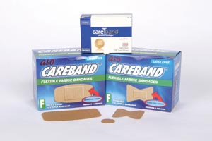ASO CARE BAND FABRIC ADHESIVE BANDAGES