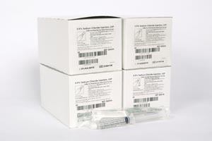 BD POSIFLUSH NORMAL SALINE SYRINGES