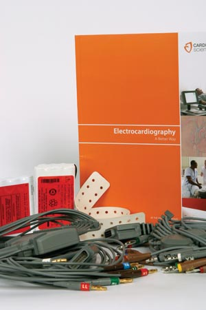 BURDICK ELECTROCARDIOGRAPH ACCESSORIES