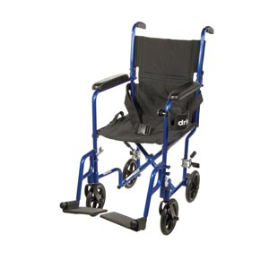 DRIVE MEDICAL ALUMINUM TRANSPORT CHAIRS