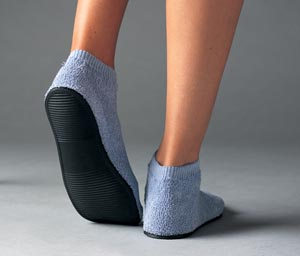 ALBA CARE-STEPS III HIGH RIBBED ANKLE