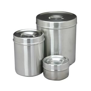 POLAR WARE DRESSING JARS WITH SLIP-OVER COVERS
